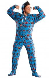 14bccac67367 Marvel Footed Pajamas For Adults - Spiderman