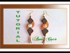 """Tutorial macramè orecchini """"Alma""""/ Tutorial macramè earrings """"Alma""""/ Diy tutorial - YouTube"""