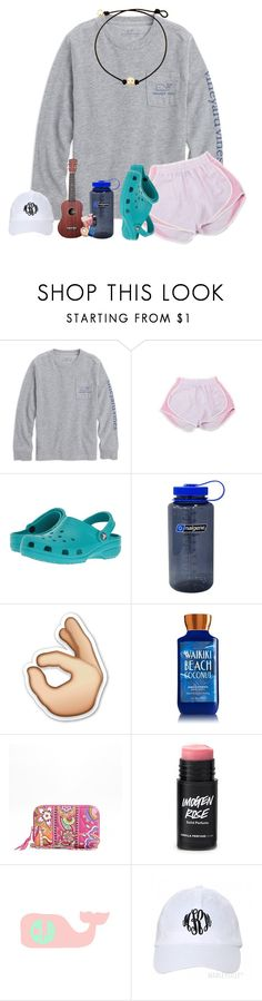 """""""crocs❤️"""" by southernmermaid ❤ liked on Polyvore featuring Crocs, Nalgene and Vera Bradley"""