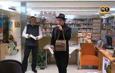 """ALELLA. """"Vi de vida"""", espectacle músico poètic a la Biblioteca Ferrer i Guàrdia d'Alella."""