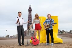 The Brick Castle: Madame Tussauds Blackpool Gets The Summer Festival Feel...