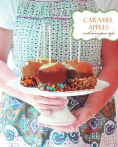how to caramel apples