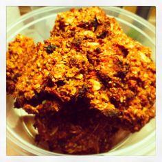Annie's Taste: Rozsos - sütőtökös kekszek