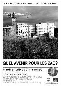"""Débat : """" Quel avenir pour les ZAC ?"""" http://www.aera-cvh.org/cultures/les-mardis-de-l-architecture/"""