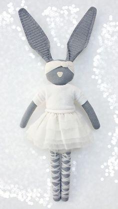 Fabric Bunny - blog Navy Plum