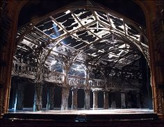 The Visit. Scenic design by Scott Pask.