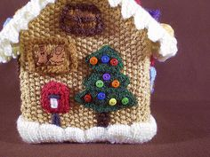 Ravelry: Gingerbread House 11, Christmas Tree pattern by Frankie Brown