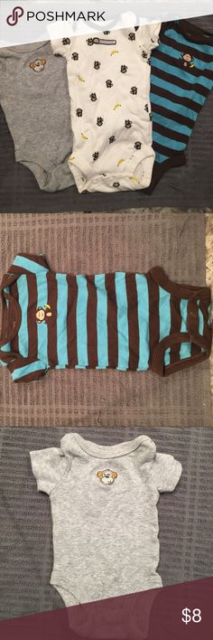 New born baby onesies Barely worn carters and babies r us Carter's Other