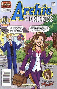 Archie and Friends 57, Archie Comic Publications https://www.pinterest.com/citygirlpideas/archie-comics/