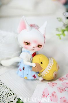 cat doll DL: Special - 10㎝ |DOLL|DEAR MINE|DOLKSTATION - Total Online Shop for BJD