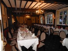 Dining room at the Crown and Cushion in Chipping Norton