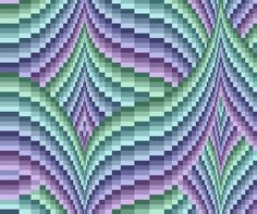bargello quilt - Love the colour combination Bargello Quilt Patterns, Bargello Needlepoint, Bargello Quilts, Needlepoint Stitches, Quilt Patterns Free, Needlepoint Designs, Needlework, Quilting Projects, Quilting Designs