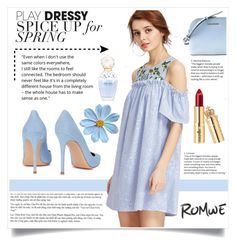 """""""Contest (Romwe)! - Win 30$ coupon!"""" by dz-eminaa ❤ liked on Polyvore featuring Gianvito Rossi and Marc Jacobs"""