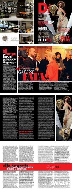 Donna Impresa Magazine 2013 Cover Giuseppe Fata Camera della moda Calabria