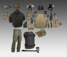 FULL LOADOUT.  Especially like the tactical pants.