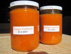 Orangen-Kürbis-Marmelade