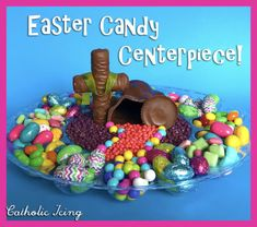 Christian Easter Crafts For Kids- Teaching Them The Easter Story Easter Crafts For Adults, Easter Crafts For Kids, Easter Ideas, Candy Centerpieces, Wedding Centerpieces, Easter Story, Easter Religious, Easter Season, Easter Candy