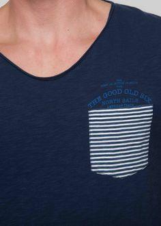 #NorthSails #collection #Spring #Summer #2014 #Man #tishirt #pocket #stripes #collezione #stagione #primavera #estate #uomo #maglia #tasca #righe
