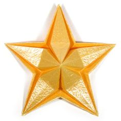 Charming Origami Christmas Star