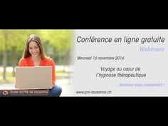 Webinaire - Voyage au cœur de l'hypnose thérapeutique - YouTube