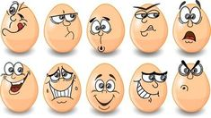 Find Cartoon Easter Eggs Happy Easter stock images in HD and millions of other royalty-free stock photos, illustrations and vectors in the Shutterstock collection. Stone Crafts, Rock Crafts, Ostern Cartoon, Easter Crafts, Crafts For Kids, Easter Cartoons, Funny Eggs, Easter Drawings, Painted Rocks