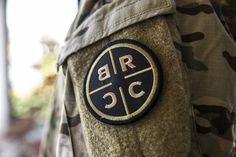 BRCC Patches - Black Rifle Coffee Company - Green on Black
