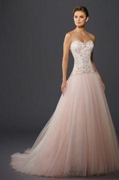 A pink wending dress!!