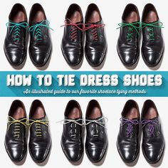 How to Lace Your Dress Shoes | The old, Lace dresses and Dress shoes