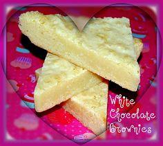 WHITE CHOCOLATE BROWNIES! - Hugs and Cookies XOXO