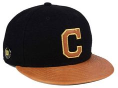 newest 7cfae 92977 Cleveland Indians New Era MLB X Wilson Metallic 59FIFTY Cap