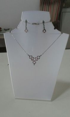 Emerald + ruby necklace