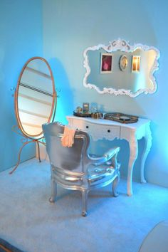 Cinderella's Room - love this for Lily's room!!