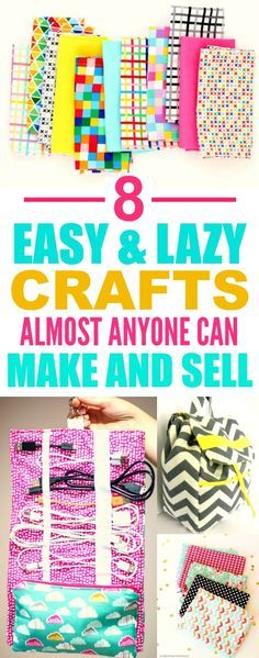 These 8 easy sewing projects you can make and sell are THE BEST! I'm so glad I found this AMAZING post! I am DEFINITELY pinning for later!