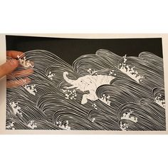 All work is cut by hand by Maude White. © 2016 Maude White. All rights reserved. http://bravebirdpaperart.com/