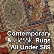 Contemporary & Classic Rugs - All Under $89
