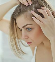 8 Simple Ways To Treat Hair Loss At The Temples Diy Hair Growth Oil, Hair Remedies For Growth, Hair Loss Remedies, Hair Thickening Remedies, Grow Hair Overnight, Temple Hair Loss, Covering Gray Hair, Beauty Tips For Glowing Skin, Silky Smooth Hair