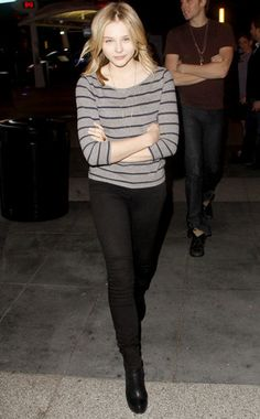 Young fashion maven Chloe Moretz.