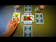 Lesson on Tarot Card Reading with a New Tarot Spread for Career, Love, R...