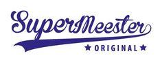 Sticker Super Meester - www.