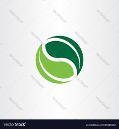 Vector image of Bio logo element green leaves icon Vector Image, includes logo, design, icon, leaves & nature. Illustrator (.ai), EPS, PDF and JPG image formats.