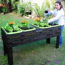 elevated garden planters - Google Search