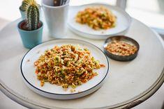 Zöldséges quinoasaláta