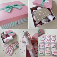 IVTIVITY Baby girl theme box