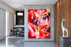 Your place to buy and sell all things handmade Large Painting, Painting Canvas, Canvas Art, Original Artwork, Original Paintings, Extra Large Wall Art, Acrylic Canvas, Abstract Wall Art, Modern Decor