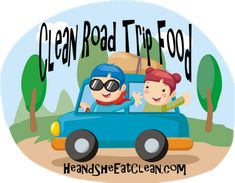 Clean Road Trip Food...or for people who are always on the go! Keep well-balanced snacks on hand so you don't feel deprived or end up over-indulging while living with a busy schedule!