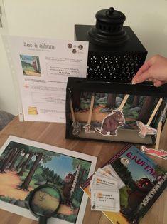 Sac à album : Le Gruffalo – Litchi&co – cycles 1 et 2 Gruffalo Activities, Educational Activities, Book Activities, Toddler Activities, Holiday Program, The Gruffalo, Album Jeunesse, Montessori Toys, Toddler Fun