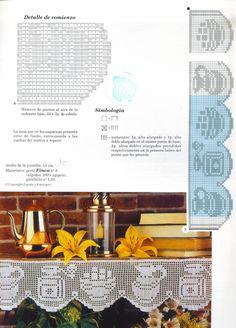 Muestras y Motivos ganchillo №97 салфетки, скатерти, занавески, покрывала.. Обсуждение на LiveInternet - Российский Сервис Онлайн-Дневников