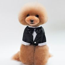 Pet Dogs Clothes Gentleman Wedding Dress Suits Dog Groom Tuxedo Suit Pet Stylish Suit Red Bow Tie Formal Party Costume #dog #dogs #doglover #dogoftheday #doglife #doglovers #doggy