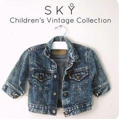 Shop now! An exclusive children's vintage collection, skyvandh.com