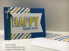 Welcome to my alphabet series showcasing some of the new products in the 2017 Occasions and Sale-A-Bration catalogs.I love the Happy Celebrations Stamp Set and the Celebrations Duo Textured Impres…
